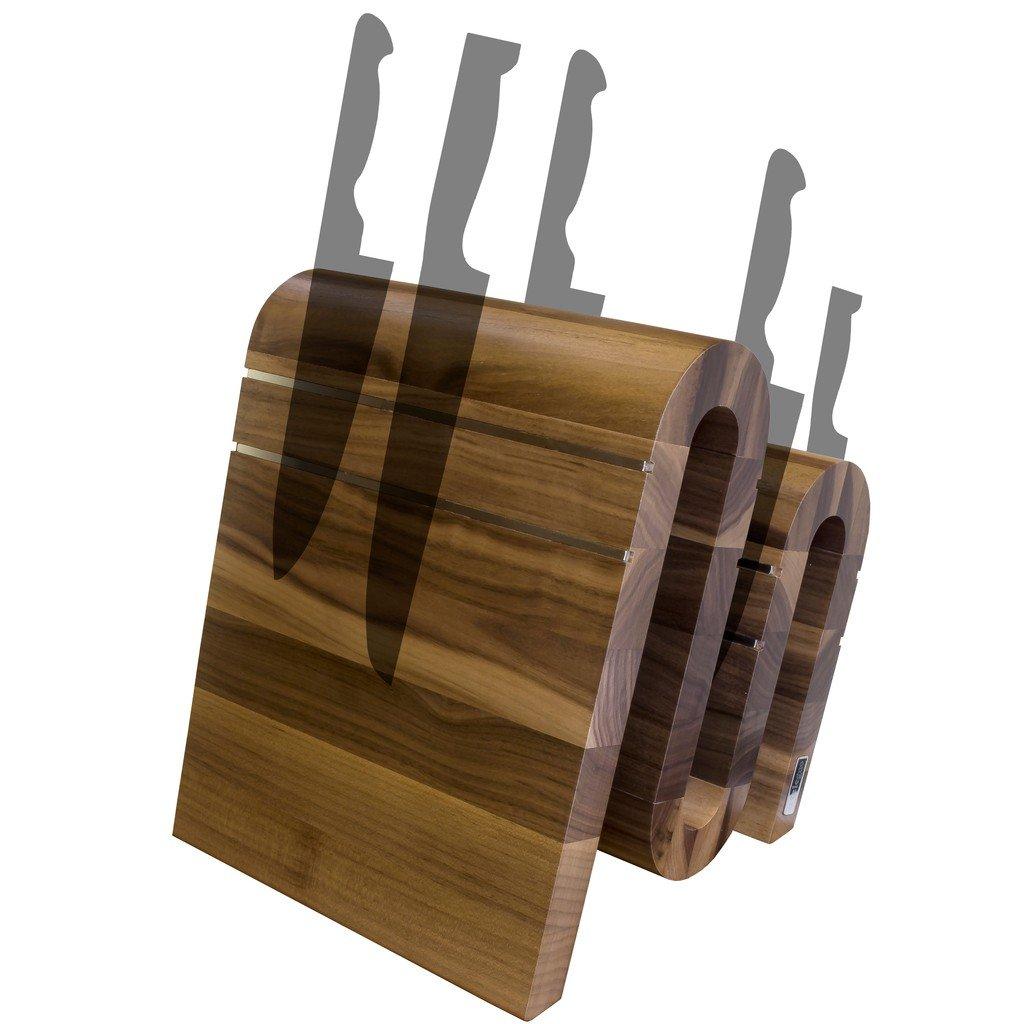 Arte Legno magnético Bloque de cuchillos y elegante cocina ...