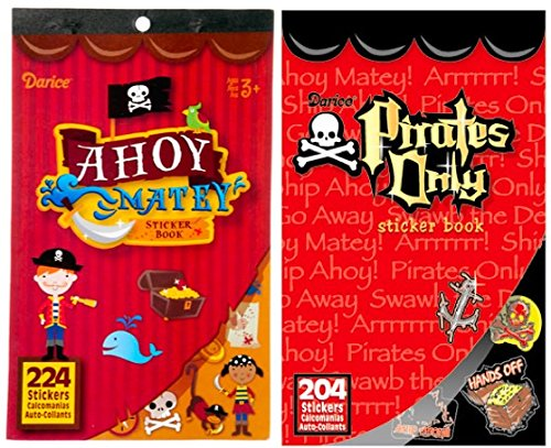Nikki's Knick Knacks 428 Pirate Themed Stickers ()