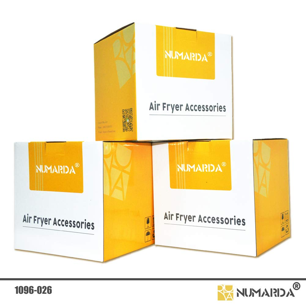 Air Fryer Accessories,Phillips Air Fryer Accessories and Gowise Air Fryer Accessories Fit all 3.7QT-5.3QT-5.8QT,Set of 5-7 inch by NUMARDA (Image #5)