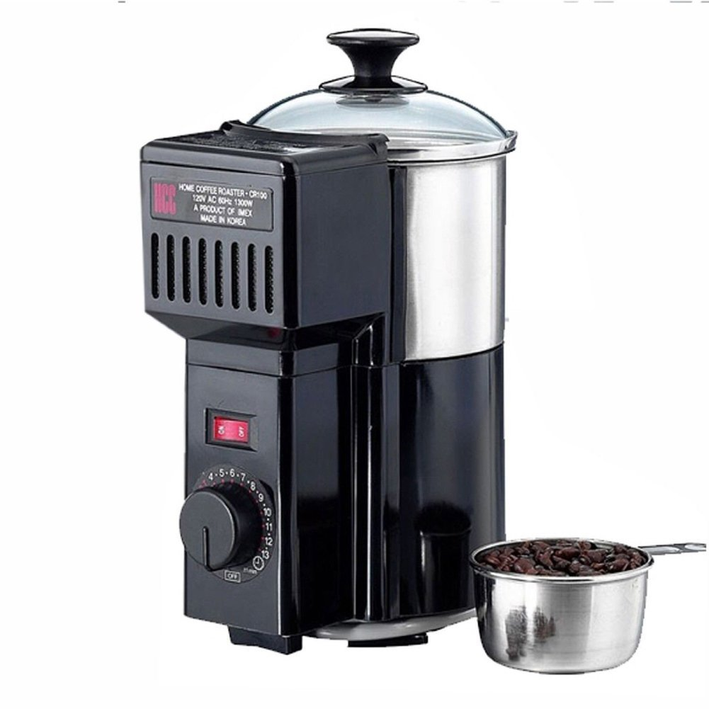 Green Coffee beans Home coffee roaster machine roasting waste heat circulation *220V