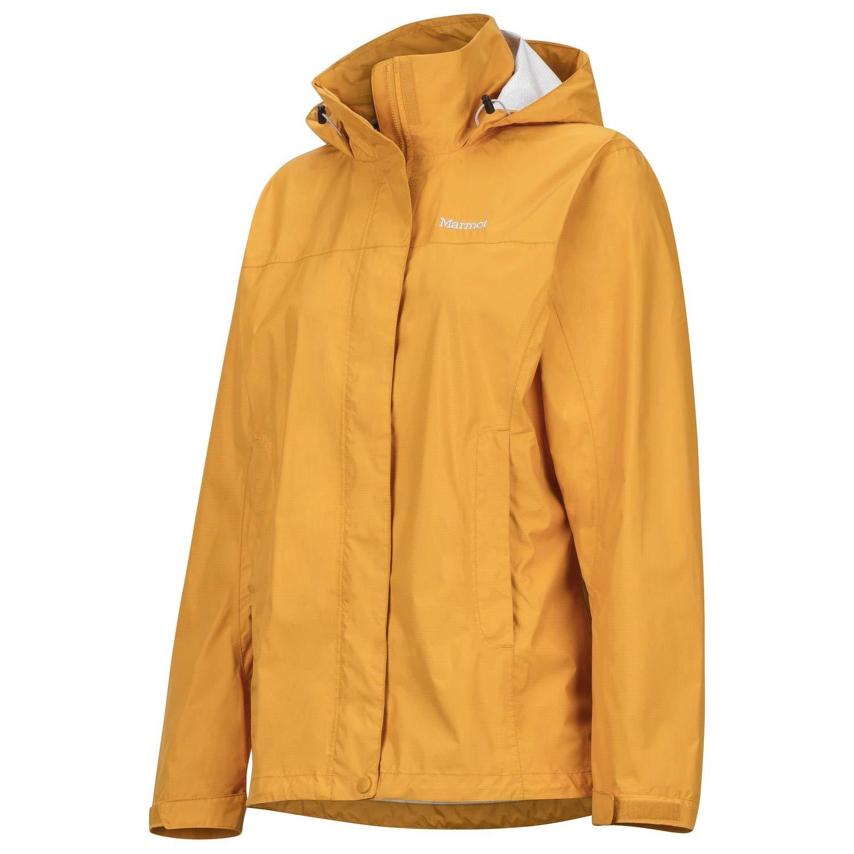 Marmot Women's PreCip Jacket Golden Eye Medium
