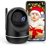Victure Cámara Vigilancia WiFi, Actualizada 1080P DualBand 2.4G & 5G, Cámara IP WiFi, HD Visión Nocturna, Audio de 2…