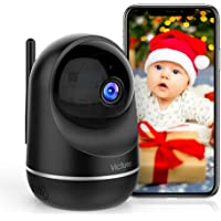 Victure 1080P Pet Camera, Dual Band 2.4/5Ghz , Indoor Security Camera with Two-Way Audio, Motion Detection, Night Vision…