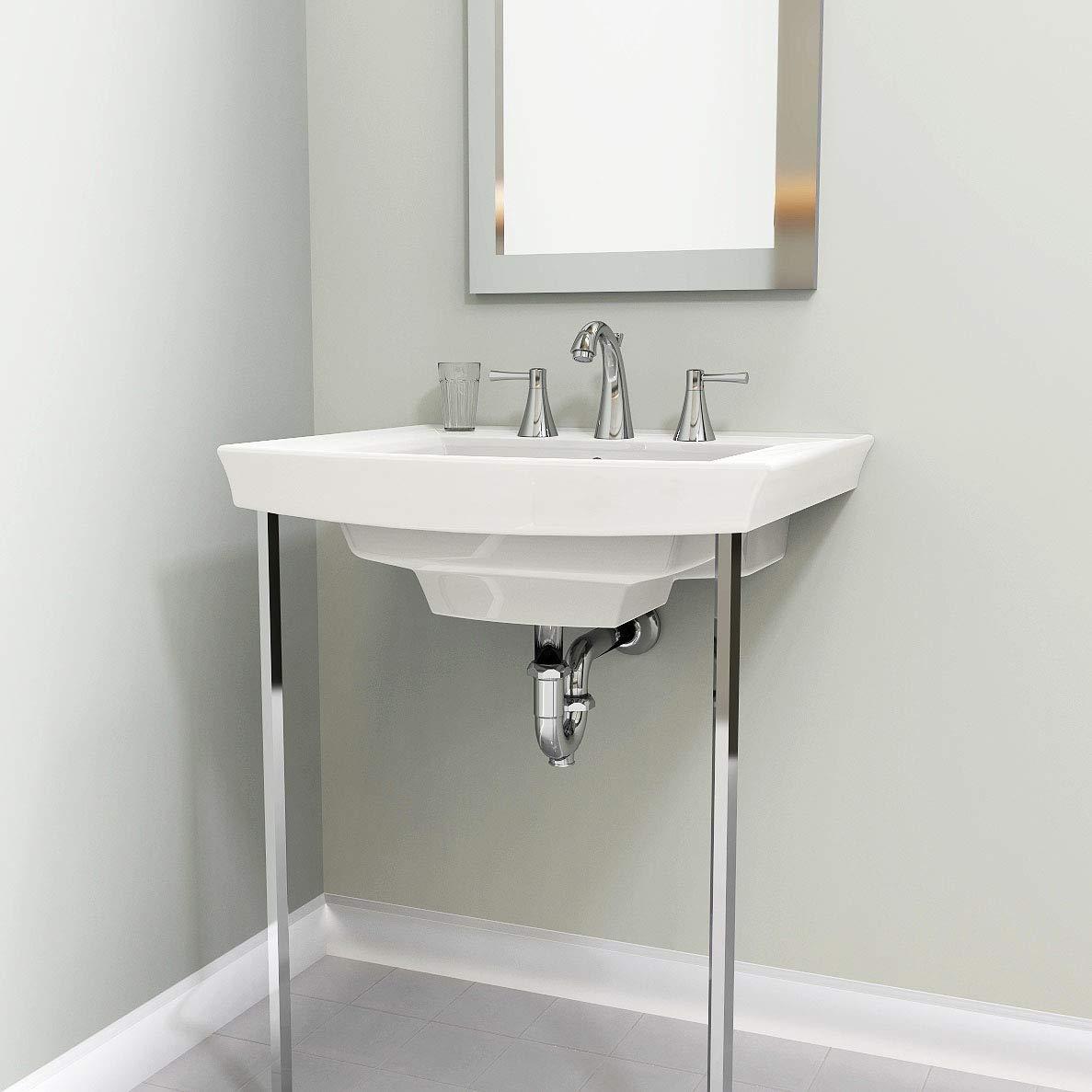 Plumb Pak PP22680 Sink Leg, 28 In In, Chrome by Plumb Pak