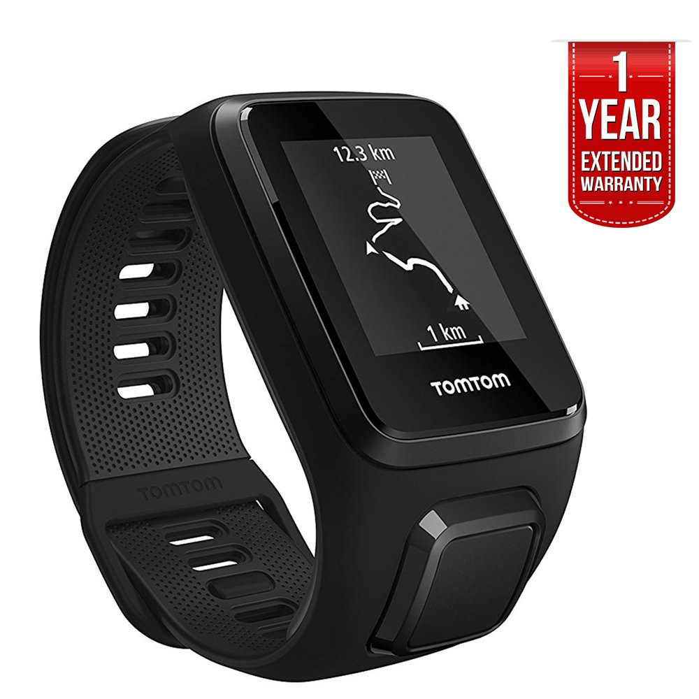 TomTom Spark 3, GPS Fitness Watch and Activity Tracker (1RL0.002.01) Black, Small + 1 YEAR EXTENDED WARRANTY by TomTom (Image #7)