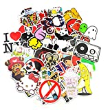 Image of Sticker Pack (200-Pcs) Graffiti Sticker Decals Vinyls for Laptop,Kids,Teens,Cars,Motorcycle,Bicycle,Skateboard Luggage,Bumper Stickers Hippie Decals bomb Waterproof