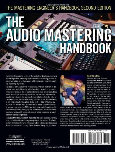 The Audio Mastering Handbook: The Mastering Engineer's Handbook