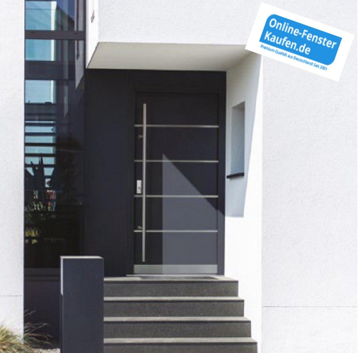 Fenster Weiß Haustür Anthrazit