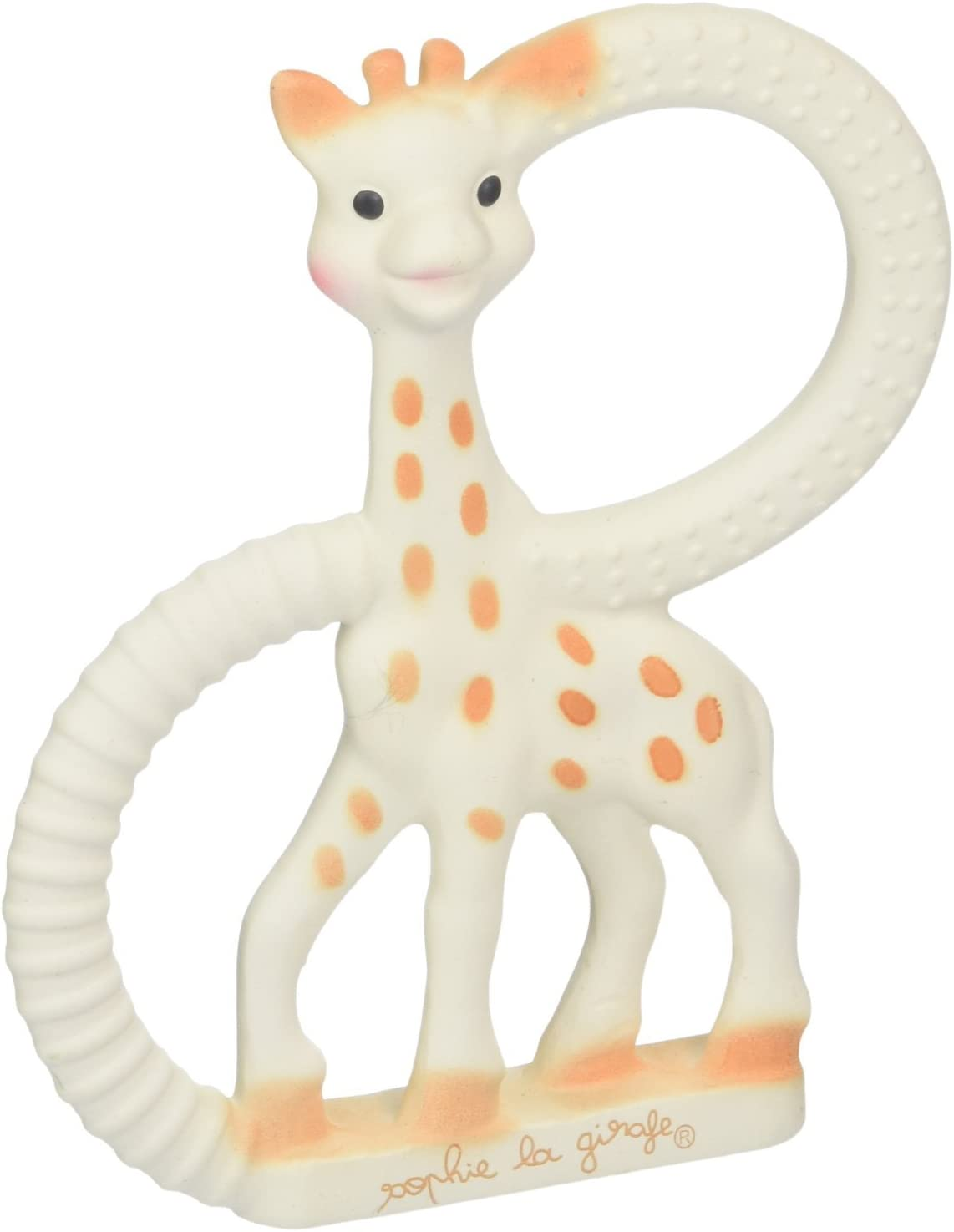 SOPHIE THE GIRAFFE Famous Baby Teether Ring By Vulli 100/% Genuine **NEW**