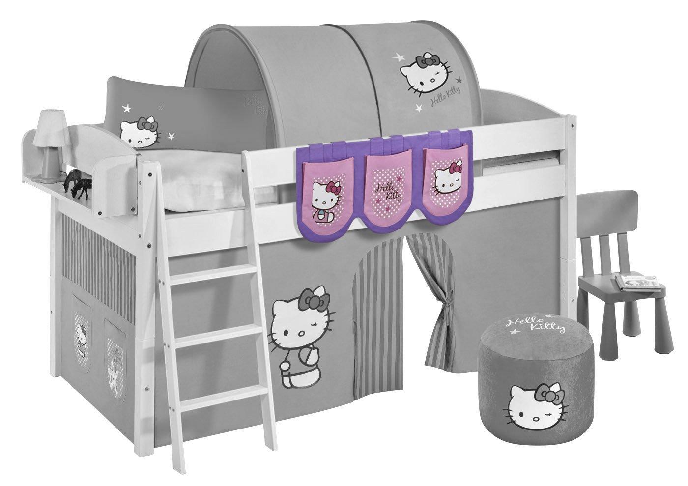 Hängetaschen Hello Kitty Lila - für Hochbett, Spielbett und Etagenbett