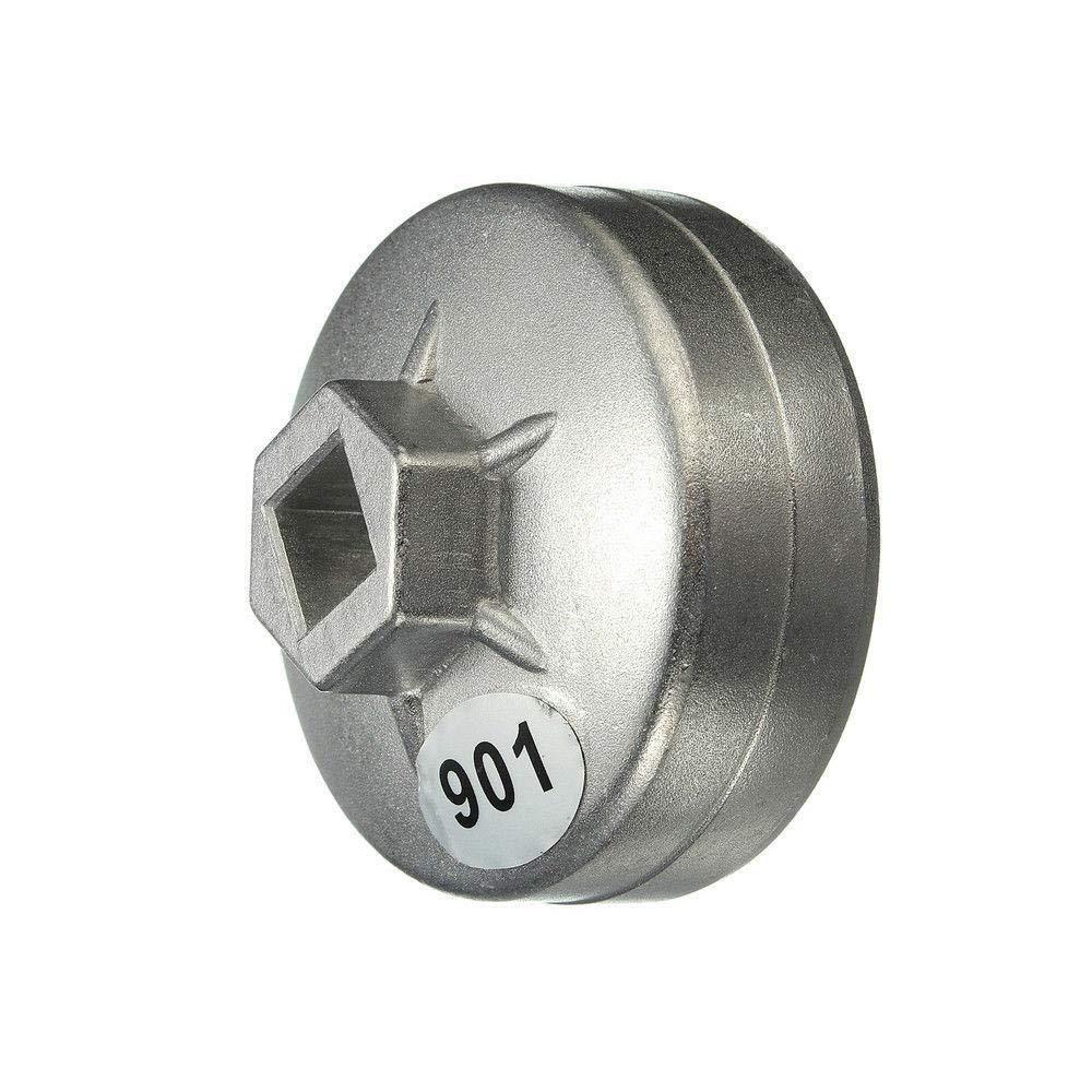 KKmoon Car 14 Teeth Aluminum Oil Filter Wrench Socket Remover Tool 903 73-74mm