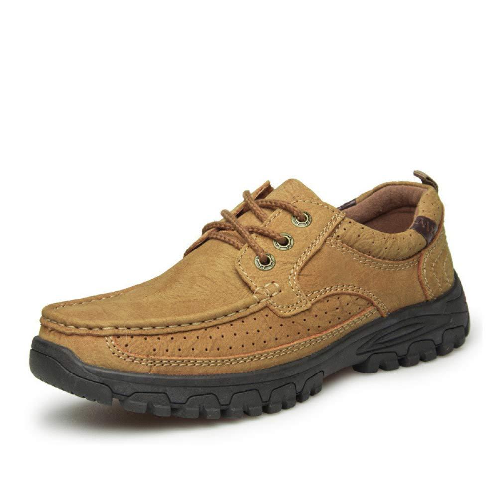 AALHM Lederschuhe Lederschuhe Neue Herren Freizeitschuhe Herbst England Leder Geschäft Schuhe mit Flut Schuhe Schuhe Herrenschuhe Wear resistant