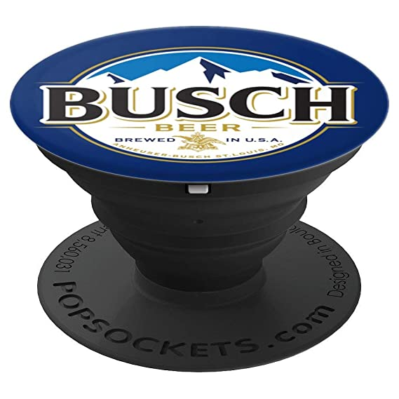 Amazon com: Busch Blue PopSockets Stand for Smartphones & Tablets