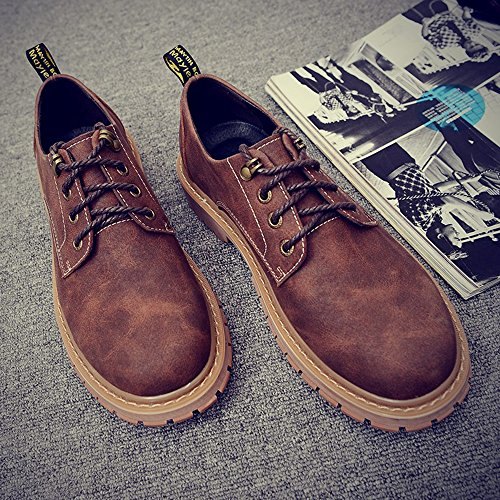 Help UK6 3 EU39 Leisure Shoes Low Colors and Men's Spring Color Size Shoes Plate 01 Autumn CN39 Feifei fHxWg