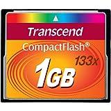 Transcend 1GB コンパクトフラッシュ (133X. TYPE I ) TS1GCF133