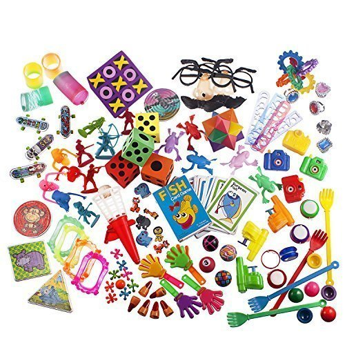 Toy Assortment of 100 Pcs by Fun toys by Fun toys