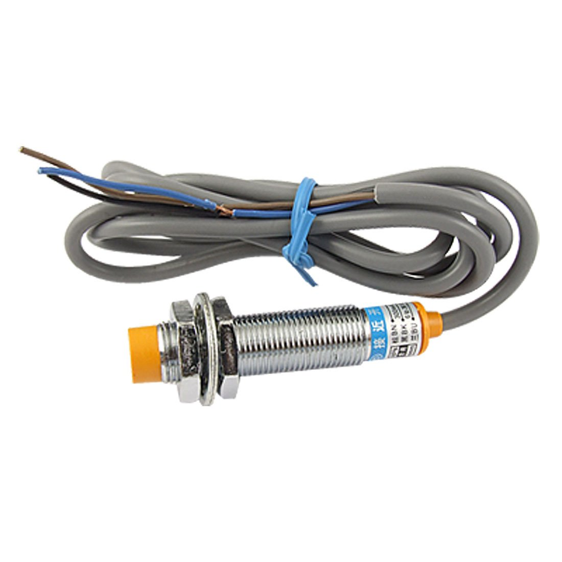 Uxcell LJ12A3-4-Z/Ax 4 mm Cylindrical Inductive Proximity Sensor ...