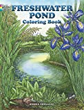 img - for Freshwater Pond Coloring Book (Dover Nature Coloring Book) book / textbook / text book