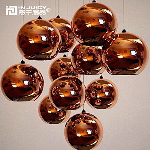 Gold Ball Pendant Light