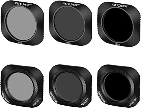 Freewell Gear grados 3-filtro Pack para DJI Mavic