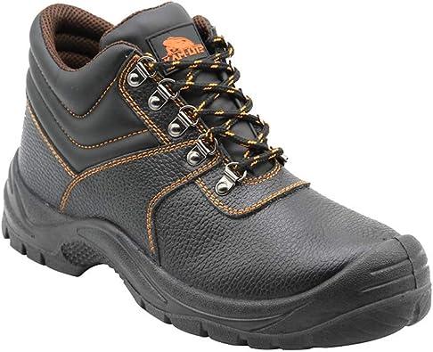 Zapatos de Seguridad para Hombres Botas de Trabajo con Punta de ...