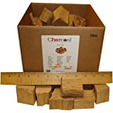 CharcoalStore White Oak Wood Smoking Chunks - No Bark (5 Pounds)