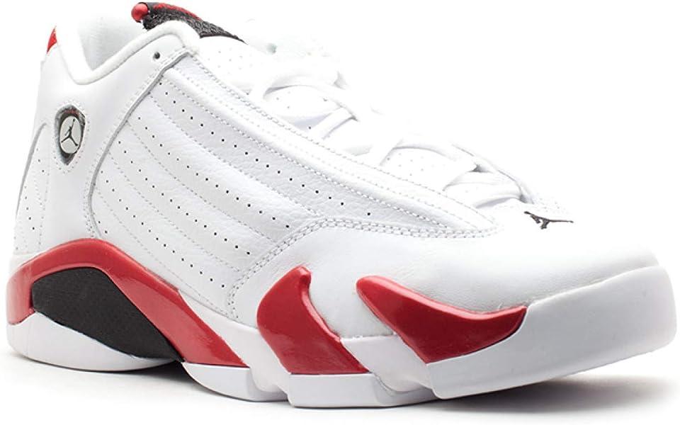 88df3adc4ac Amazon.com | Air Jordan 14 Retro (Gs) 'Candy Cane' - 487524-101 ...