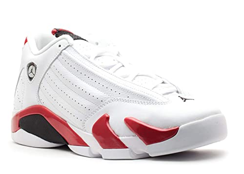 0cfc5b4e38f0 Nike AIR Jordan 14 Retro (GS)  Candy Cane  - 487524-101  Amazon.ca  Shoes    Handbags