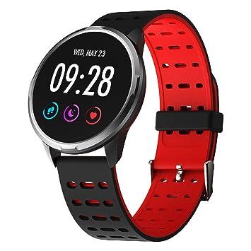 WCPZJS Reloj Inteligente para Hombre, de Vidrio Templado, rastreador de Actividad física, Monitor