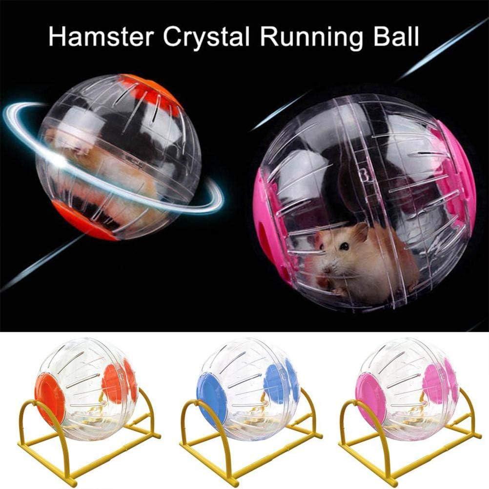 Juguetes para roedores para Correr 15 cm Sarplle Hamster Exercise Ball Jogging Juguetes para Correr para h/ámsters y Ratones Ejercicio