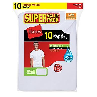 Hanes Mens Crew Super Value Pack P10