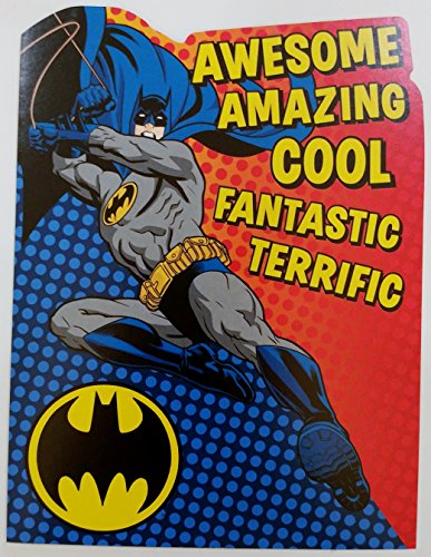 Batman Happy Birthday Greeting Card for Grandson