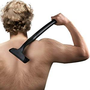 OXA Do-It-Yourself Back Hair Shaver-- Makes Back Grooming Easy, Quick and Effective (DBS10)