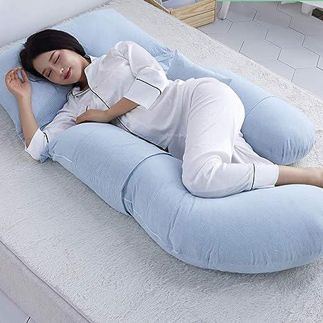 XYYFZ Almohada para Mujeres Embarazadas Almohada en Forma de ...