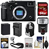 Fujifilm X-Pro2 Wi-Fi Digital Camera Body 64GB Card + Battery & Charger + Flash + Backpack + Strap + Kit