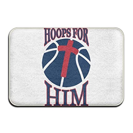 Amazon Com Home Door Mat Hoops For Him Doormat Door Mats Entrance