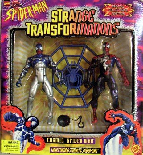 SPIDER-MAN STRANGE TRANSFORMATIONS COSMIC SPIDER-MAN ACTION FIGURES