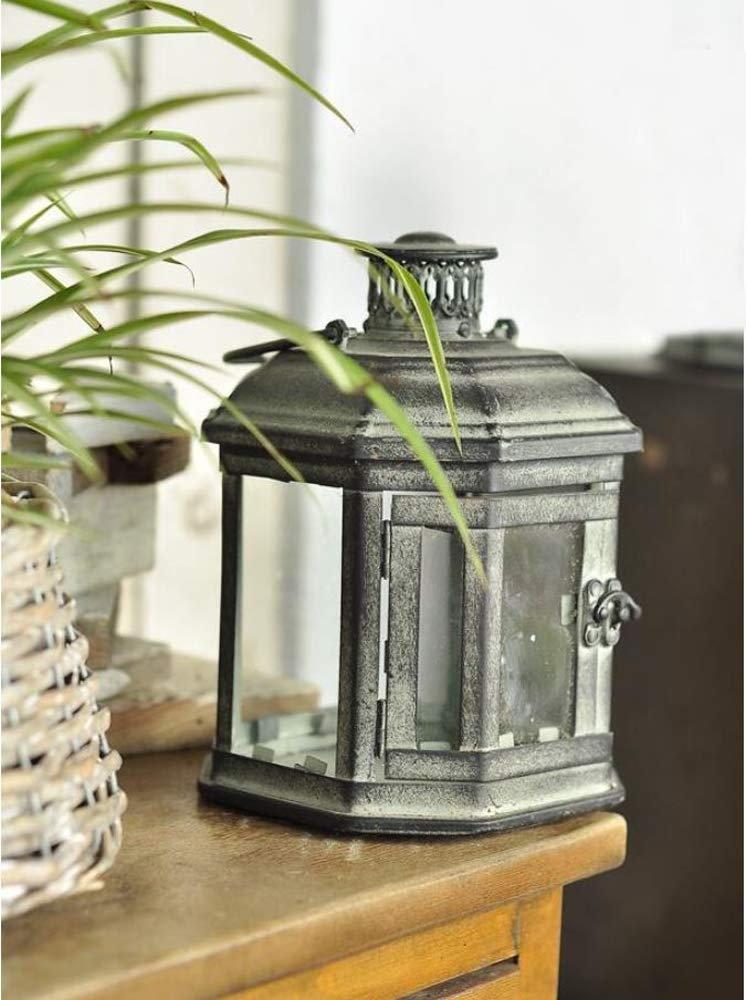 PierSurplus Metal Candle Lanterns with Stand - Three-Tier Lantern Stand for Yard Product SKU: CL221880 by PierSurplus (Image #7)