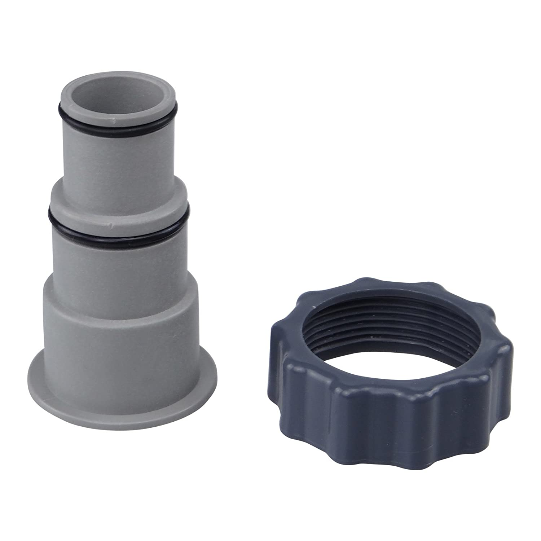 Adaptador A para piscina Intex de atornillar, conexión para 32 y 38 mm manguera: Amazon.es: Hogar
