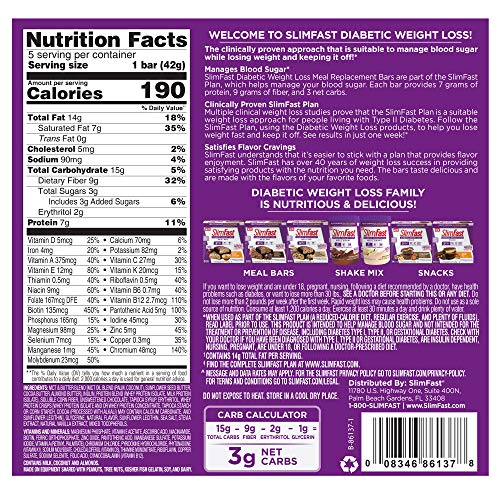 slimfast diabetic weight loss reviews