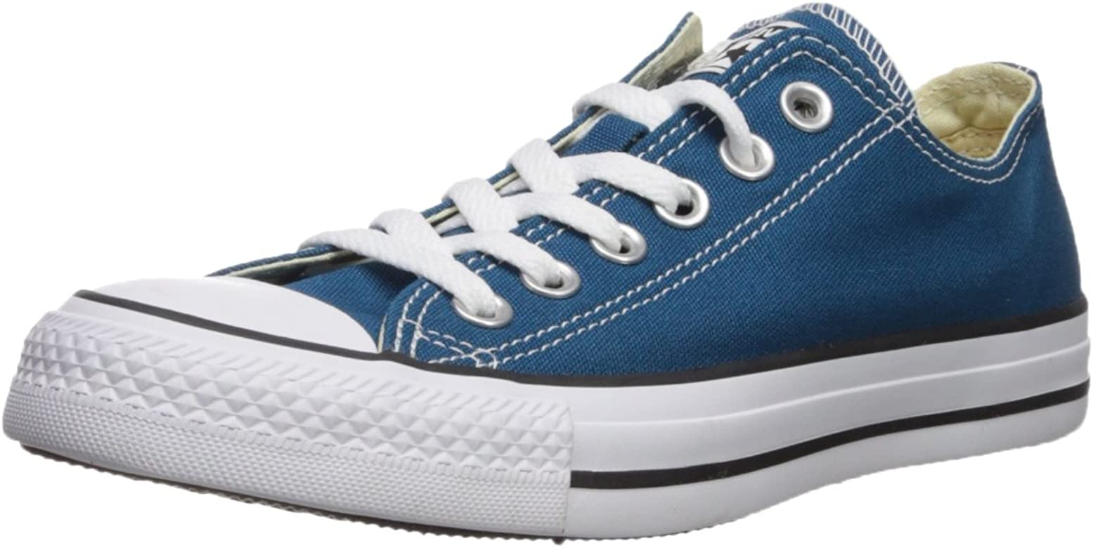 505528bbd8e Converse Unisex Chuck Taylor All Star Ox Low Top Classic Blue Lagoon  Sneakers - 4.5 D