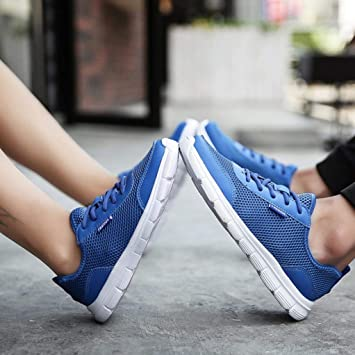 WWricotta LuckyGirls Zapatillas de Correr Hombre Mujer Par ...