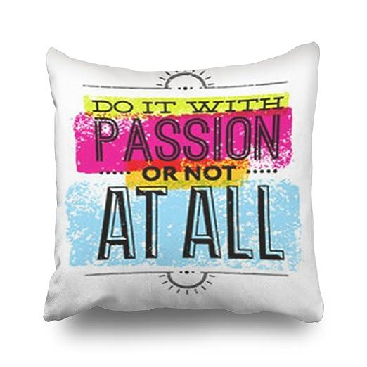 HomeGigi Fundas de Almohada para Hacer pasión no Todas Las ...