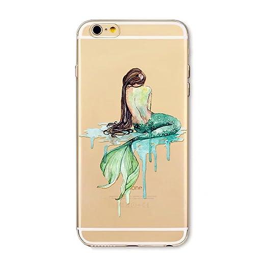 14 opinioni per Custodia iPhone SE/5/5S MUTOUREN Case Cover trasparente cassa molle del silicone
