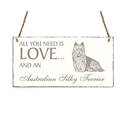 Placa decorativa, « All You Need is Love And An Australian ...