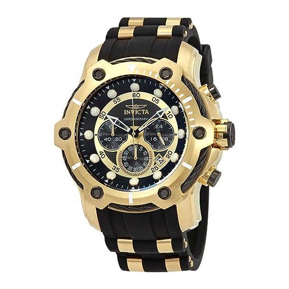 Amazon.com: Invicta Mens 26751 Bolt Quartz Chronograph Black Dial Watch: Watches