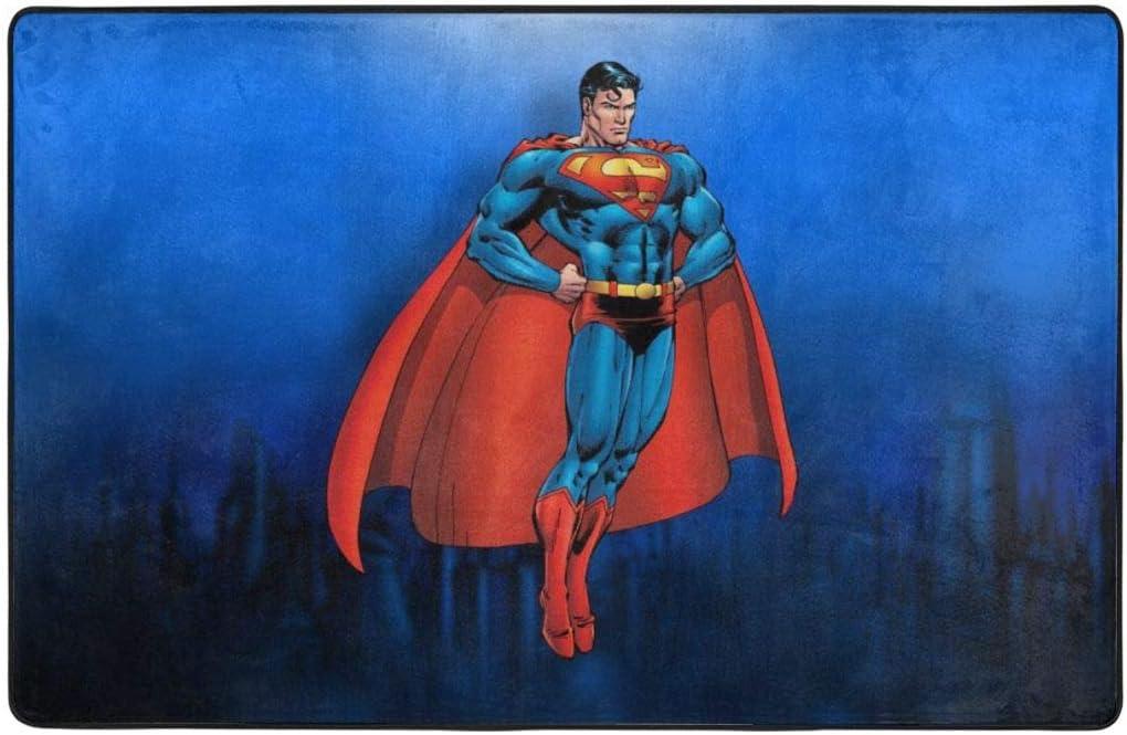 Superman Non-Slip Area Rug