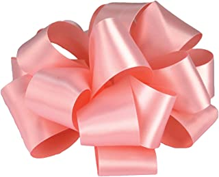 product image for Offray Single Face Satin Craft Ribbon, 3-Inch by 10-Yard Spool, Light Pink