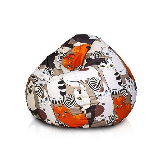 Ecopuf Oscar Modern - Puf con diseño de fantasía de ...