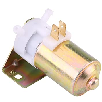 Qiilu Universal 12V Bomba de limpiaparabrisas Limpiador del parabrisas de coche